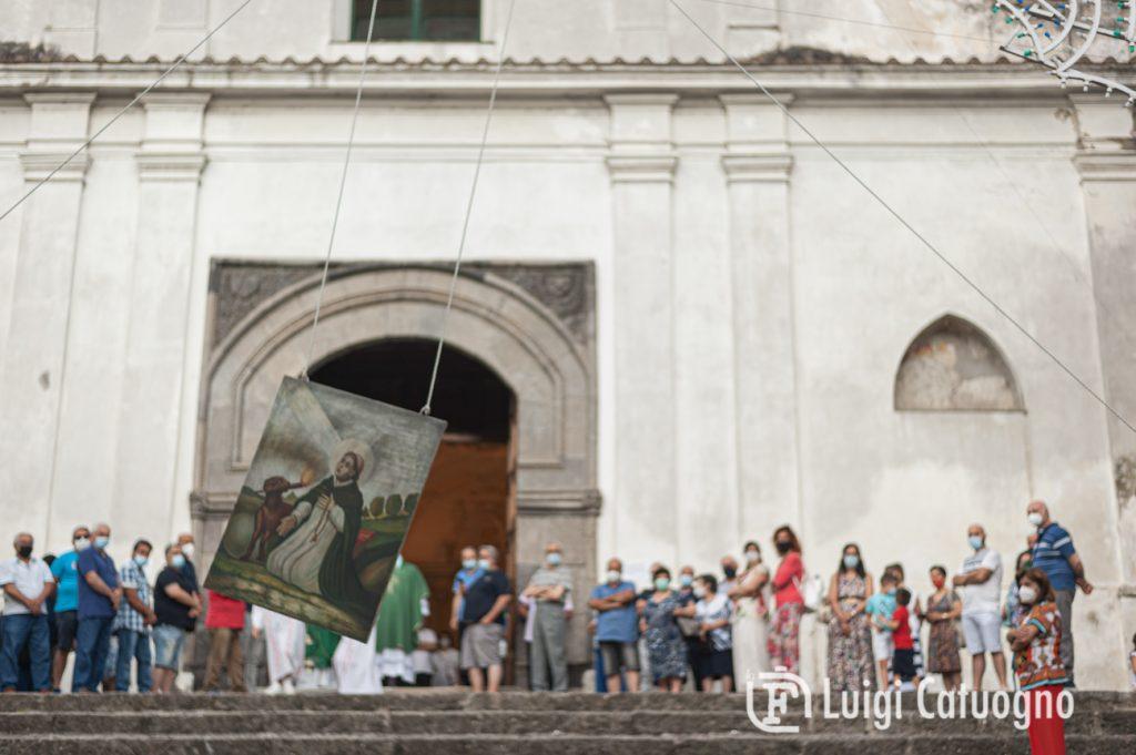 Parrocchia di San Domenico ad Acquamela di Baronissi. Alzata del panno 2021